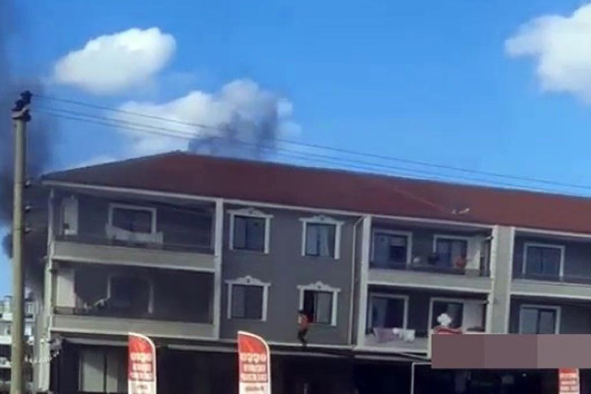3 yaşındaki çocuğun çakmakla oyunu yangınla bitti