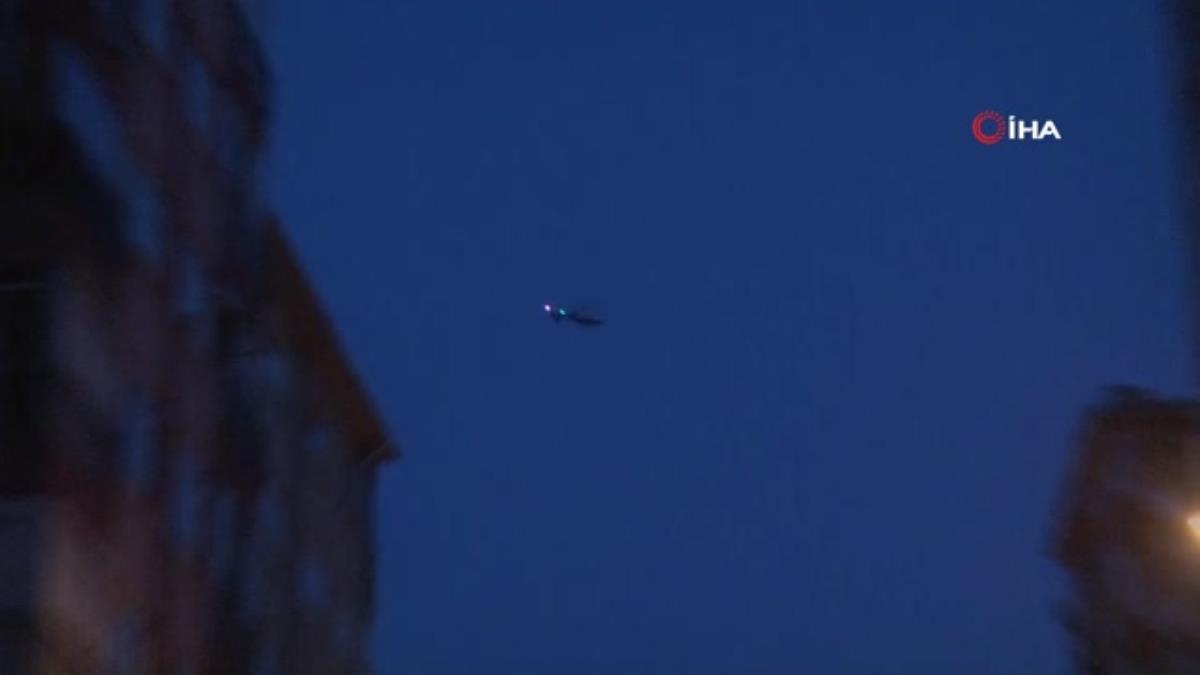 İstanbul da havadan helikopter, karadan cammer destekli şafak operasyonu: Çok sayıda gözaltı