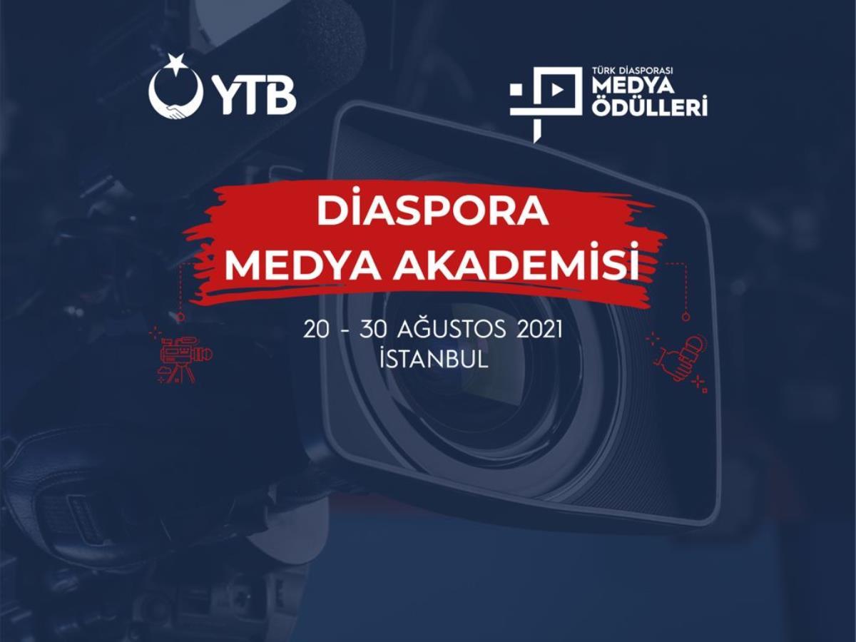 YTB den yurt dışında medya sektörüne ilgi duyanlar için YTB Diaspora Medya Akademisi