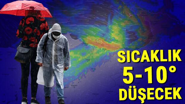 Son dakika… Meteoroloji bölgeleri sıraladı ve uyardı! Aşırı kuvvetli yağış geliyor: 100 kilogram üzeri…
